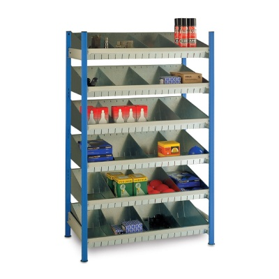 Trimline Steel Tray Shelving Unit