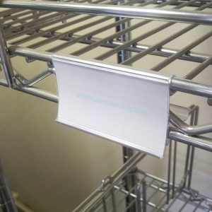 Wire Shelving Clip-On Label Holders