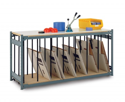 Workbench Divider Rack