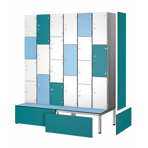 ZEN BOX Aluminium Lockers