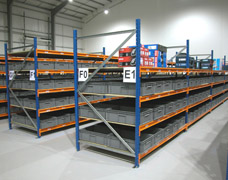 Warehouse Racking Using Longspan Shelving