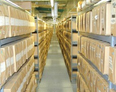 View examples of EZR archive records storage systems
