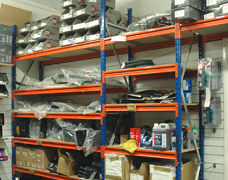 Shelving For Bicycle Pars & Accessories