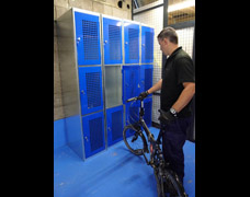 Bicycle Lockers For Brompton Folding Bicycles