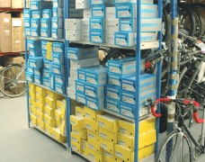 Cycle Shoe Shelving