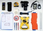 Site survey measuring equipment