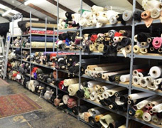 Storage Racking For Fabric Rolls