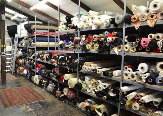 ... Storage Racks For Fabric Rolls u0026 Cloth & Fabric Roll Storage For Stockrooms