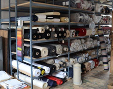 Stockroom Storage For Fabric & Cloth