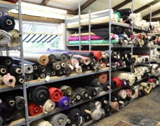 Shelving For Fabric Rolls