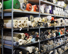 Storage Racks For Fabric Rolls & Cloth