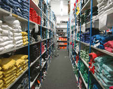 Garment Storage Shelving Systems For Retailers