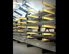 Factory bar racking
