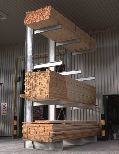 Cantilever Racking Systems For Timber Steel And Pipes