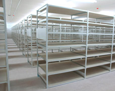 High Density Archive Shelving Solution