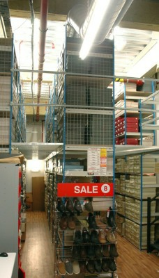2 Tier Shoe Storage Racking