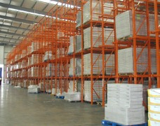 Industrial Pallet Racking System In Warehouse