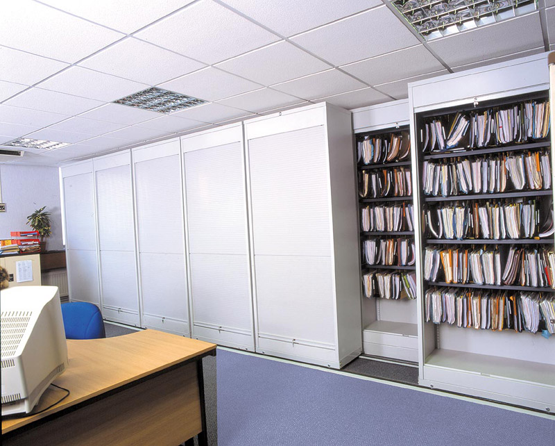 office shelving units. Side Rolling Shelving Units Office