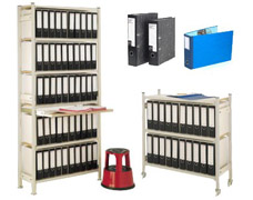 Lever Arch File Storage Units