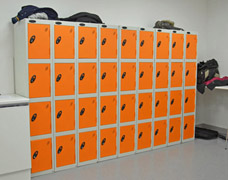 staff locker storage solution