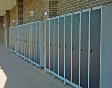 External school lockers