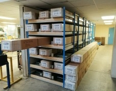 Storage Racks For Long Boxed Goods & Products