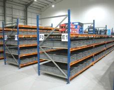 longspan racking and shelving