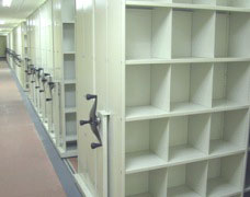 Find out how mobile shelving can improve medical archive storage