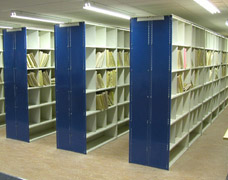 Shelving For Storing Medical Records