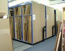 Movable Picture Racks