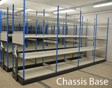 High density roller racking system