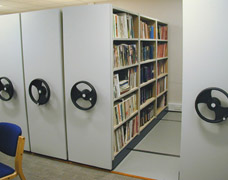 Mobile Book Shelving Systems For Libraries