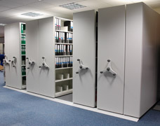 Mobile Office Shelving