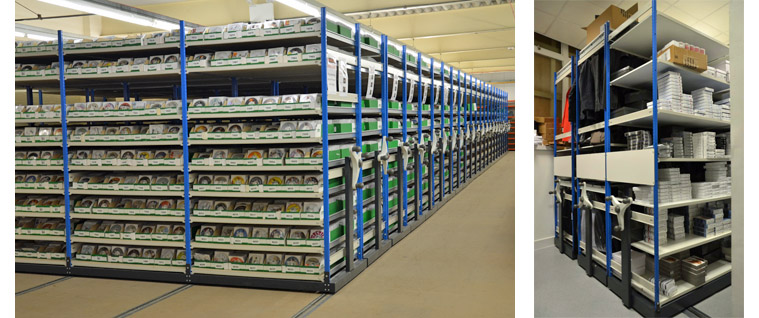 Roller Racking Systems By EZR Shelving