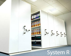 System R Mobile Shelving Units