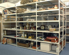 Boltless Museum Storage Shelving Units