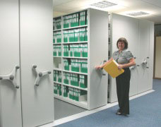 See how installing mobile shelving in offices can improve storage capacity