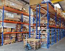 Industrial Pallet Rack Solution In A Warehouse