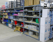Type 1 Heavy Duty Shelving System For Retail Stock