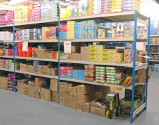 Retail Racking For Toys & Games