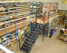 EZR Two Tier Shelving Systems