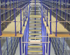 Mezzanine Floor Shelving Solutions