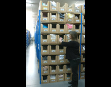 EZR Warehouse Shelving Solution