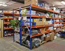 Heavy Duty Stockroom Shelving For Mixed Goods
